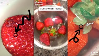 Strawberry Challenge TikTok