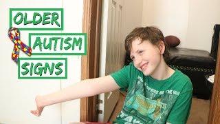 SIGNS OF AUTISM IN TEENAGERS + OLDER CHILDREN
