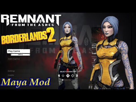 Remnant From The Ashes Borderlands 2 Maya Mod
