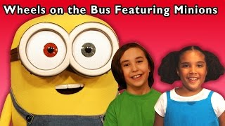 minions dance party   the wheels on the bus and more   baby songs from mother goose club