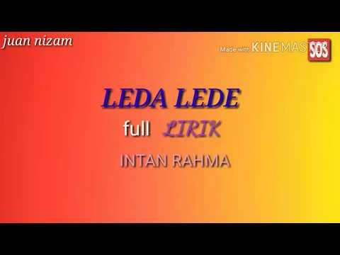 LEDA LEDE (ora tak getuni)full LIRIK & MUSIK