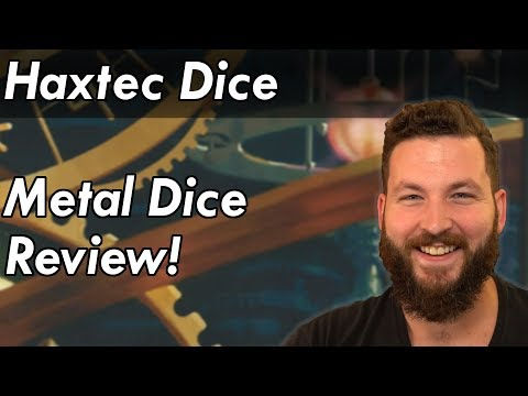 Haxtec Metal Dice Review & Giveaway! - Dungeons and Dragons Accessories
