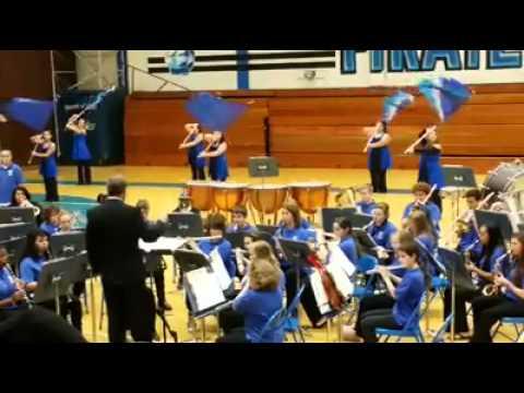 Christmas Party Hop - Wheatland Union High School Band