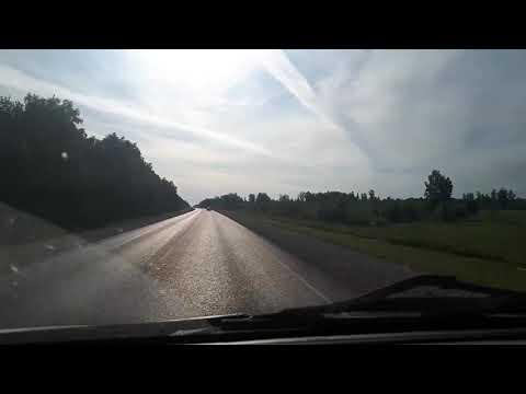 Новосибирск - Кемерово - Мариинск и страшное дтп на 47 минуте