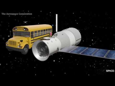 China's Falling Space Station: Tiangong-1 Questions Answered