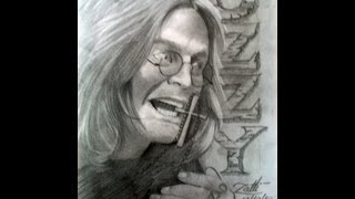 COMO DESENHAR O OZZY- HOW TO DRAW THE OZZY
