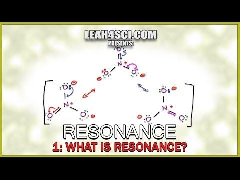 What is Resonance -Understanding Orgo Resonance Structures Vid 1 by Leah Fisch