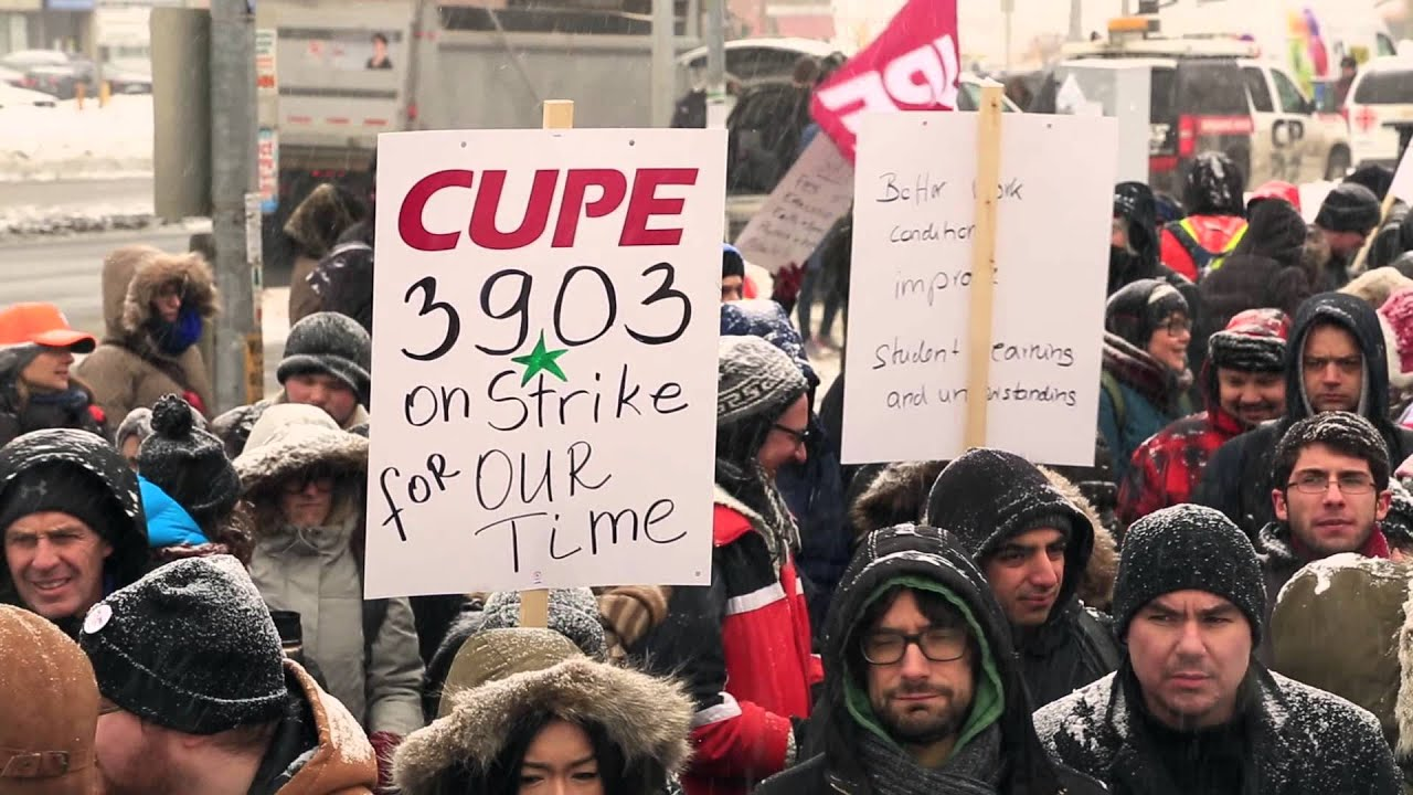 A message to students from CUPE 3903