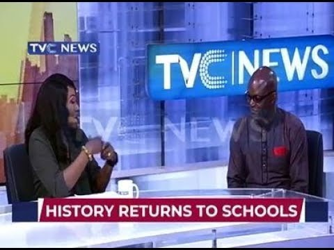Public Affairs Analyst, Charles Ideho discusses the importance of history returning back to schools