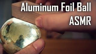 connectYoutube - Polishing Aluminum Foil Ball (ASMR Evolution)