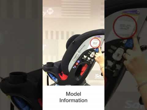 Maxi Cosi MagellanR Max Car Seat Where To Find Expiration Date Model Info