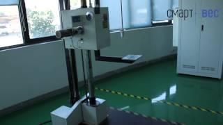 Тестирования упаковки тензодатчика  СмартВес   весы для взвешивания вагонов(, 2014-04-24T14:03:55.000Z)