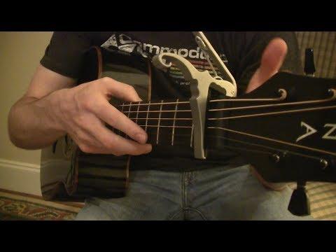 How to Play - Suga Suga by Baby Bash - Guitar Tutorial
