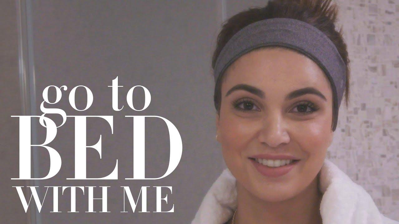 Блогерката Негин Мирсалехи открива која е нејзината рутина пред спиење