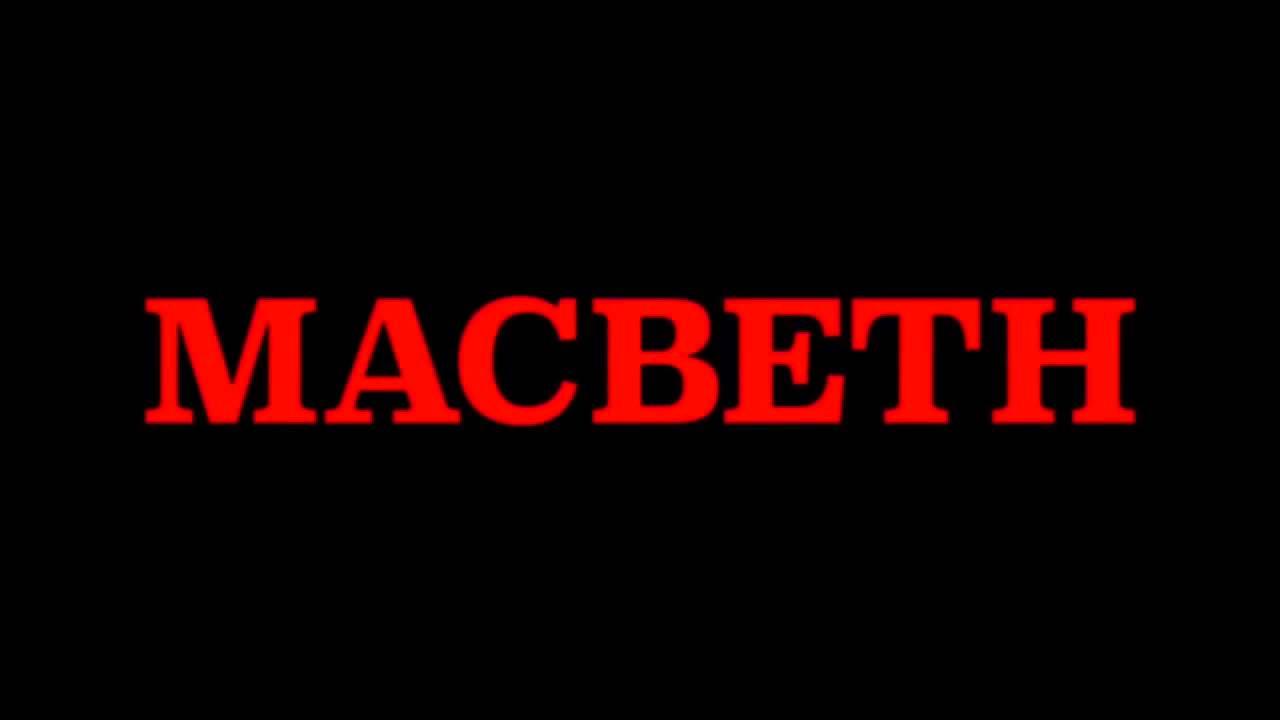 Macbeth 2015 - Soundtrack ( fan made ) - YouTubeMacbeth Logo Images