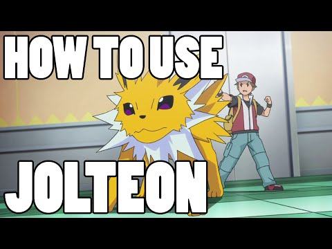 How To Use: Jolteon! Jolteon Strategy Guide ORAS / XY