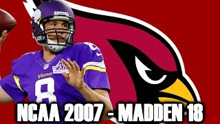 SAM BRADFORD THROUGH THE YEARS - NCAA FOOTBALL 07 - MADDEN 18