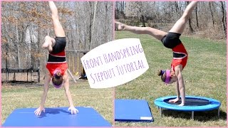 How to Do A Front Handspring Stepout