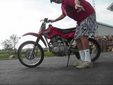 How To Start A 125 Dirt Bike Youtube