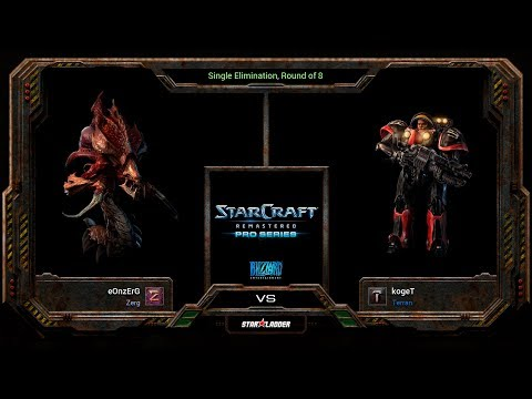 SC:Remastered Pro Series Ro8 Match 1: kogeT (T) vs eOnzErG (Z)