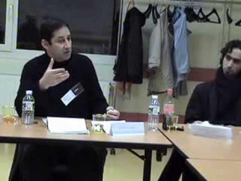 colloque Mau 2008 Jacques Halbronn, Fouzy Hamici Le Sénéchal, Dominique Orés,