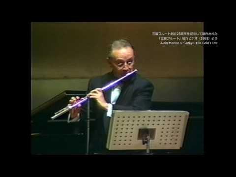 Alain Marion plays Sankyo Flute
