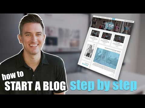 How to Start a Health and Fitness Blog Step by Step Tutorial for Beginners