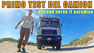 Primo test del camion 🔥Off-road Baja California 😁Giro del mondo