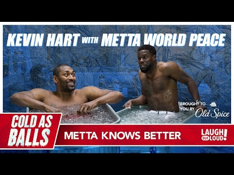 Kevin Hart Goes Head To Head With Metta World Peace...And Lives To Talk About It