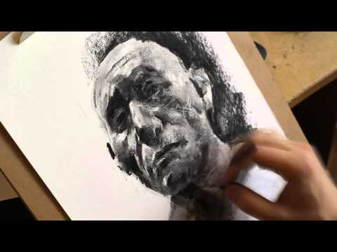 portrait-drawing-with-charcoal