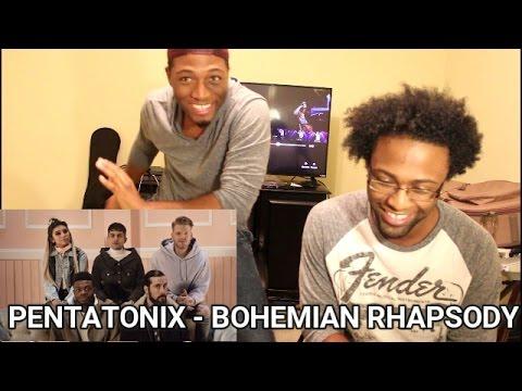 [OFFICIAL VIDEO] Bohemian Rhapsody – Pentatonix (REACTION)