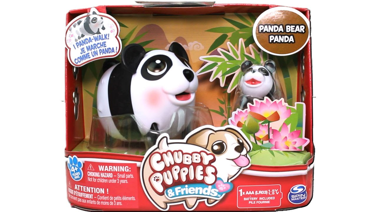 Chubby Puppies And Friends Panda Bear Unboxing Review Youtube