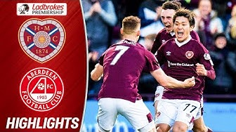 Hearts 1-1 Aberdeen | 10-man Hearts Hold Aberdeen But Stay Bottom | Ladbrokes Premiership