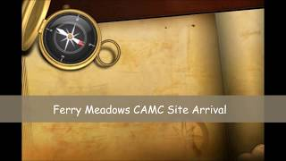 Cambridgeshire - Ferry Meadows CAMC Site Arrival