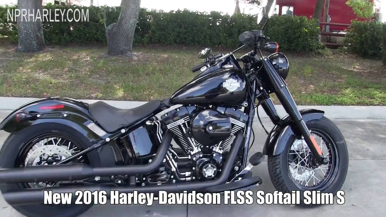 new 2016 harley davidson flss softail slim s 2017 softail slim coming soon youtube. Black Bedroom Furniture Sets. Home Design Ideas
