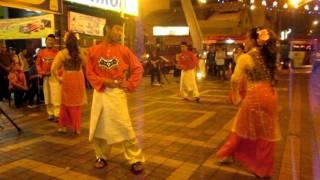 Tarian raya  warna warni aidilfitri@ central market-CITRASARI DANCE TROUPE