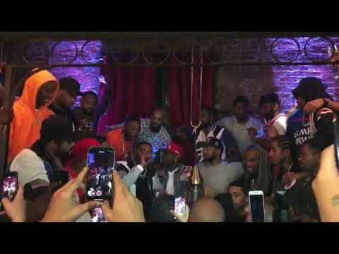 Nas Speaks at NORE 5E Album Release Party