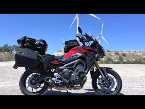 Motorcycle adventure (Switzerland - France - Spain) MT-09 Tracer