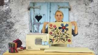 Laundry Basket Quilts - Quilting Window Episode 1: Fabric Silhouettes