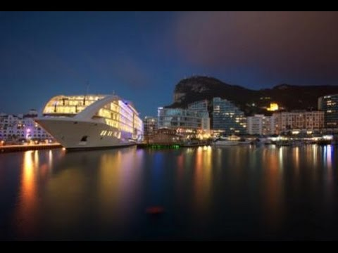 Discover luxuy super yacht Sunborn Gibraltar