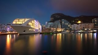 Discover luxuy super yacht Sunborn Gibraltar