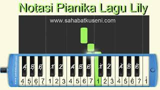 not-lagu-lily-pianika-cover