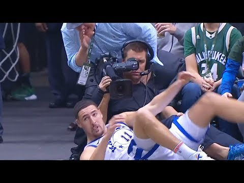 Klay Thompson Gets Fan Ejected for Cursing at Him! Warriors vs Bucks