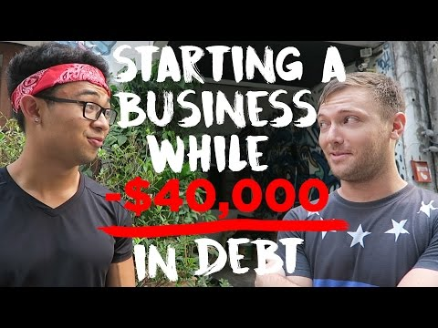 Starting a Business while -$40,000 in DEBT - Bangkok, Thailand