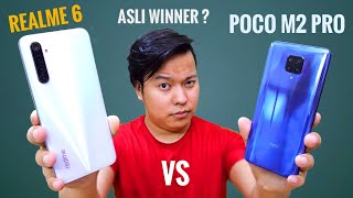 Poco M2 Pro vs Realme 6 Full Comparison ⚡Best Smartphone Under ₹15000 ??