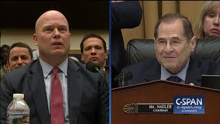 "House Judiciary Committee Chair Rep. Jerry Nadler: ""Have you ever been asked to approve any request or action to be taken by the special counsel?"" Acting ..."