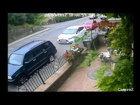 Linthwaite - Car Crash