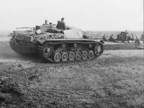 StuG III in action