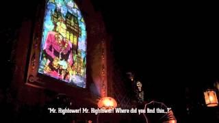 Tokyo Disney Sea's Tower of Terror POV with English Subtitles
