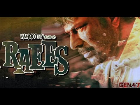 Mammootty in & as Raees |RAEES Trailer Remix | GEN 47